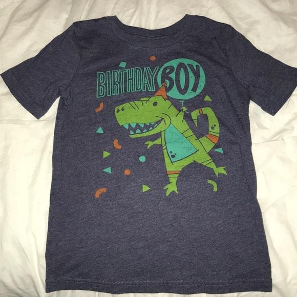 Birthday Boy Shirt Size 6